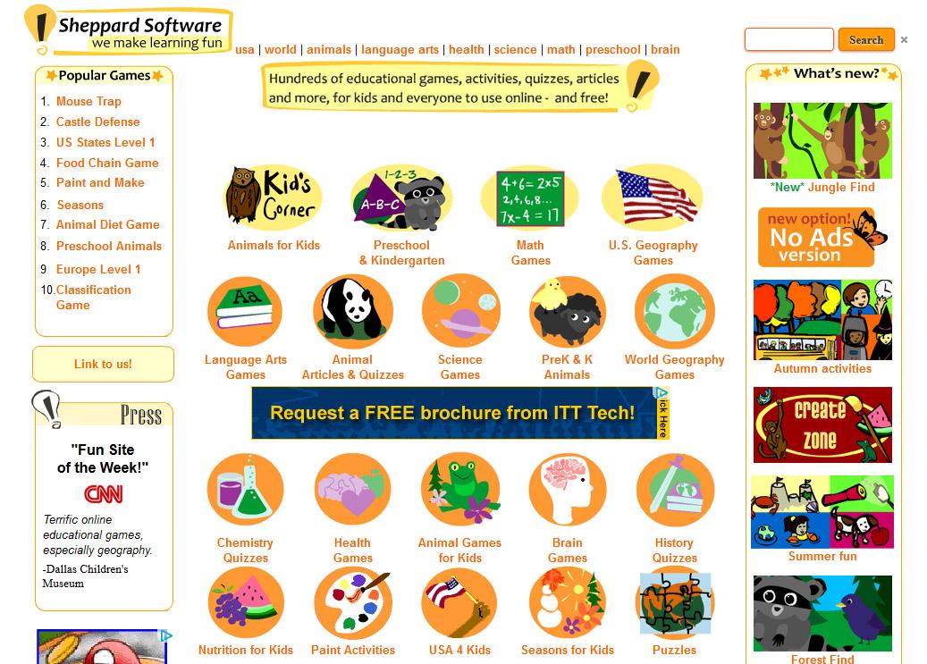 Sheppard Software | crader.info
